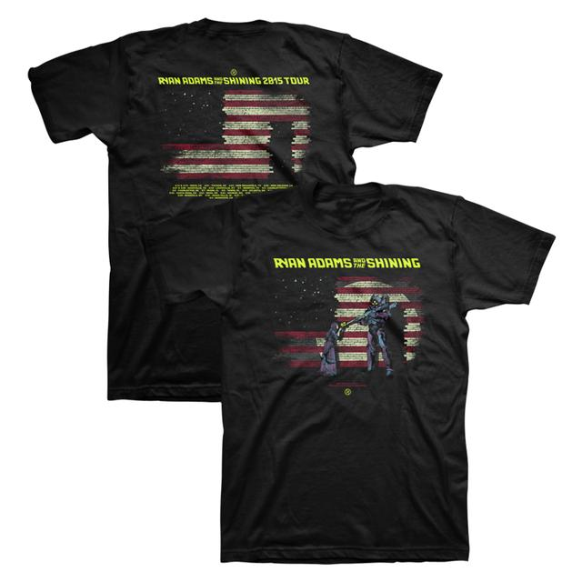 Ryan Adams Flag 2015 Tour Tee