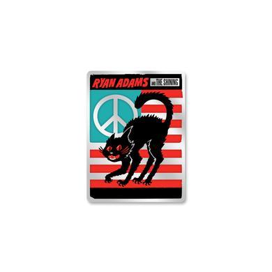 Ryan Adams Cat Flag Enamel Pin
