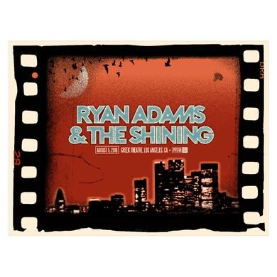 Ryan Adams Los Angeles Show Poster (8/5/16)
