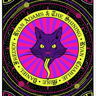 Ryan Adams Missoula Show Poster (8/13/16)