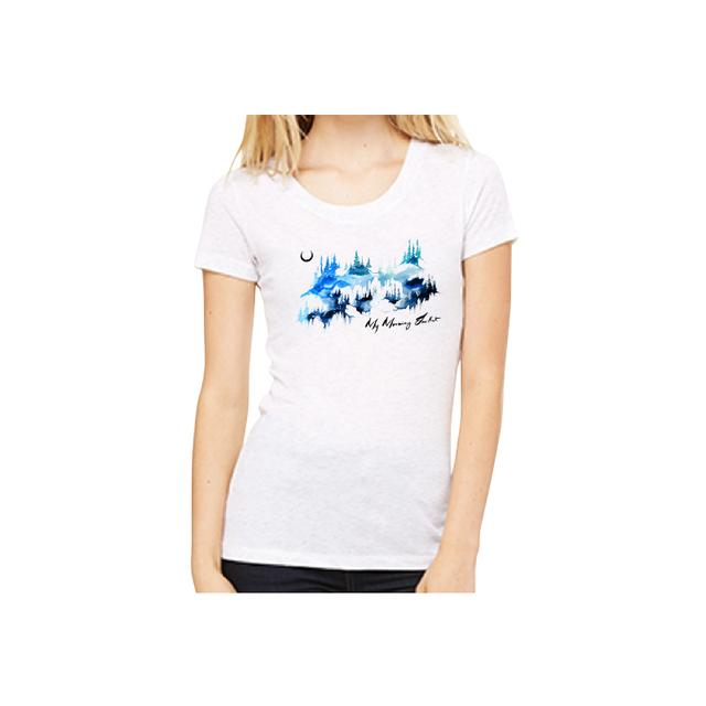 My Morning Jacket Watercolor Mountains Women's Tee