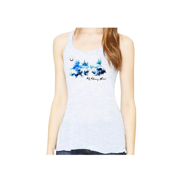 My Morning Jacket Watercolor Mountains Women's Tank