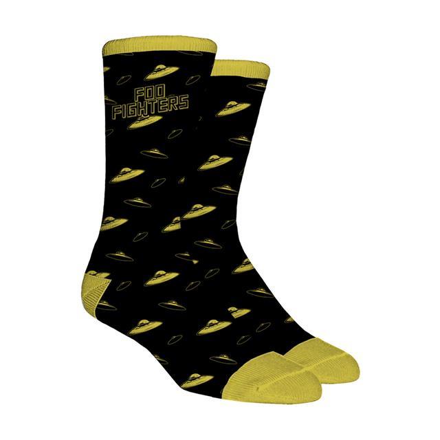 Foo Fighters UFO Socks