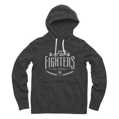 Foo Fighters Organic Pullover Hoodie (Charcoal Heather)