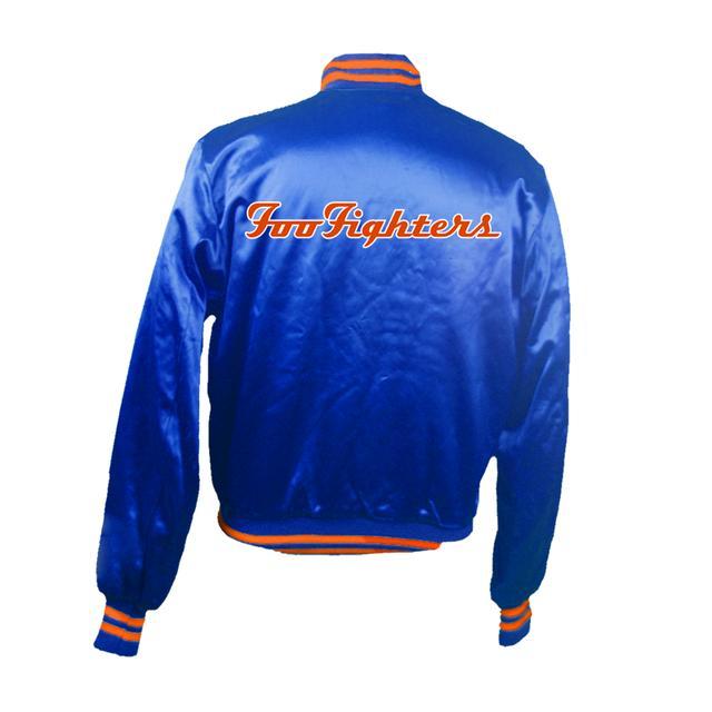 Foo Fighters Citi Field Satin Jacket