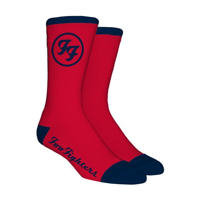 Foo Fighters Fenway Socks