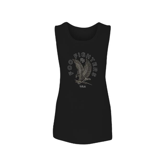 Foo Fighters Classic Eagle Muscle Tank