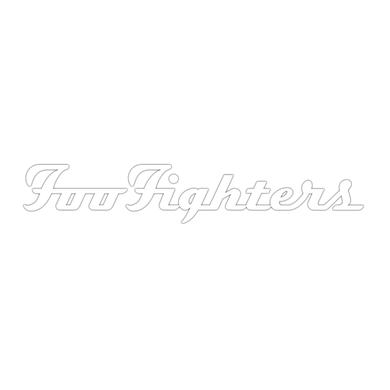 Foo Fighters White Decal