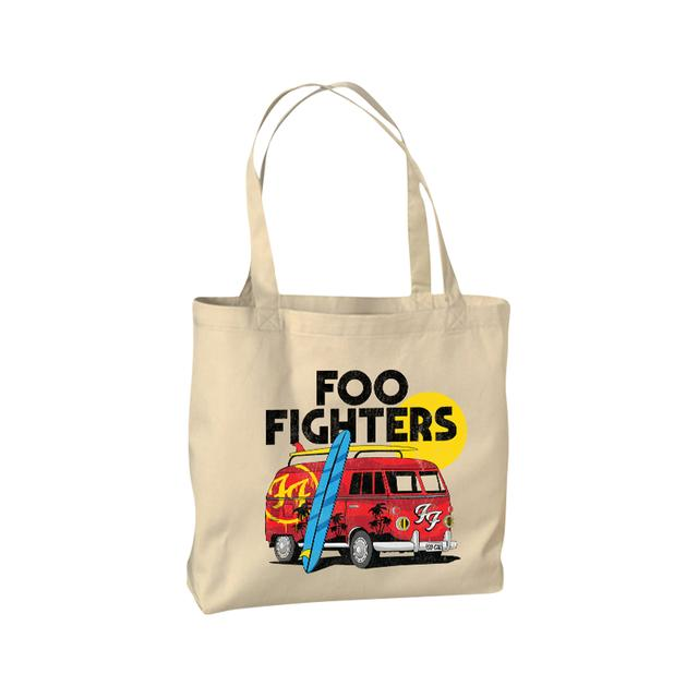 Foo Fighters Split Window Tote