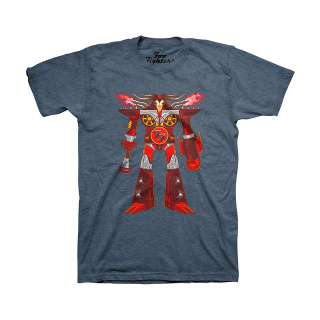 Foo Fighters ACL Robot Unisex Tee