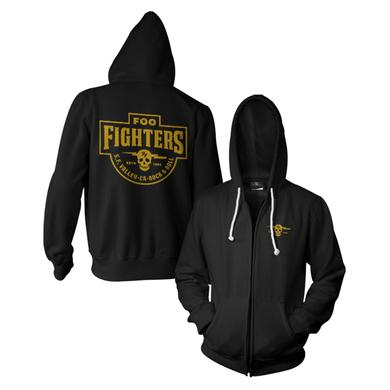 Foo Fighters Insignia Zip Hoodie