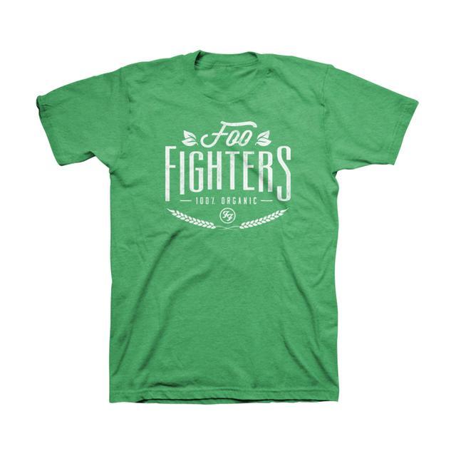 Foo Fighters Organic Unisex Tee (Heather Kelly)