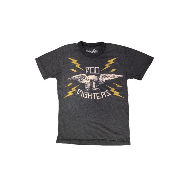 Foo Fighters Lightning Eagle Kid's Tee (Charcoal Heather)
