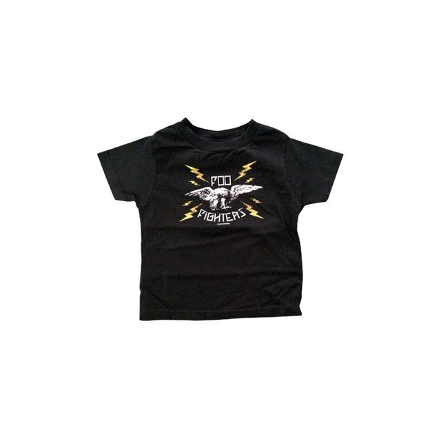 Foo Fighters Lightning Eagle Toddler Tee (Black)