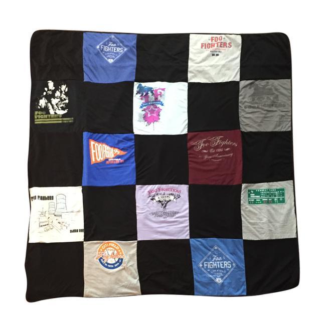 Foo Fighters T-Shirt Blanket