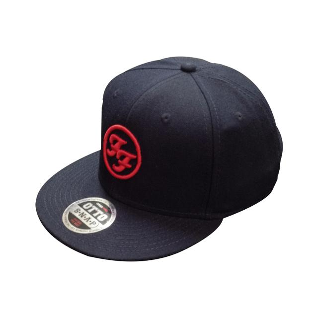 Foo Fighters FF Navy Snap Back Hat