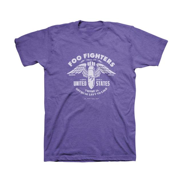 Foo Fighters One By One Unisex Tee (Purple Heather)