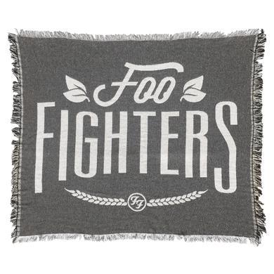 Foo Fighters Woven Throw Blanket