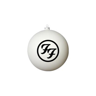 Foo Fighters Logo White Ornament