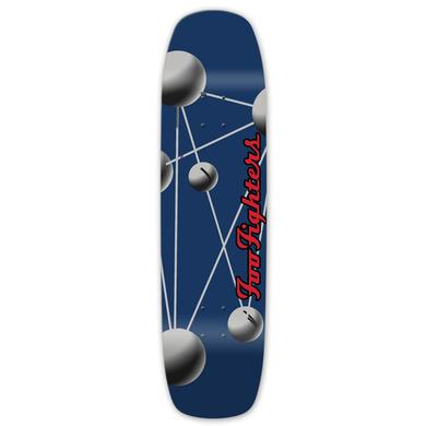 Foo Fighters Molecules Skate Deck