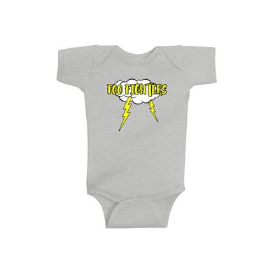 Foo Fighters Roaring Onesie (Grey)