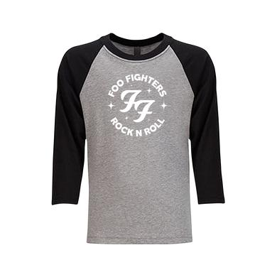 Foo Fighters Sparkles Kid's Baseball Tee (Black)