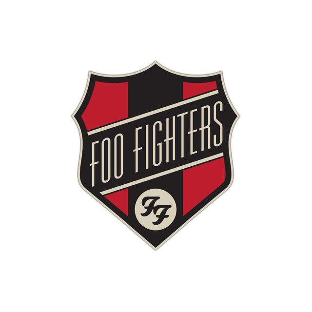 Foo Fighters Shoppe Embriodered Patch