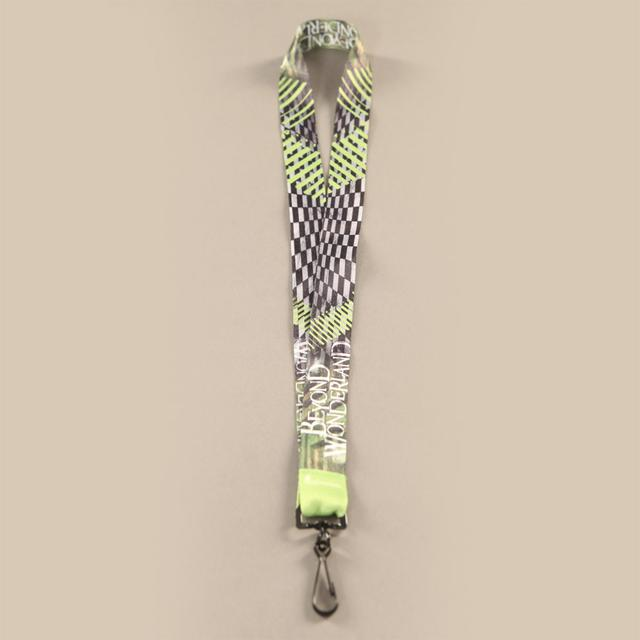 Insomniac Beyond Wonderland Lanyard Green/Black
