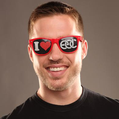 Insomniac I Heart EDC Sunglasses Red