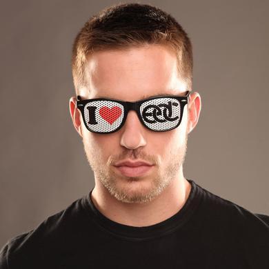 Insomniac I Heart EDC Sunglasses Black