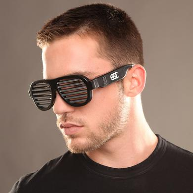 Insomniac EDC Sound Reactive LED Sunglasses Black
