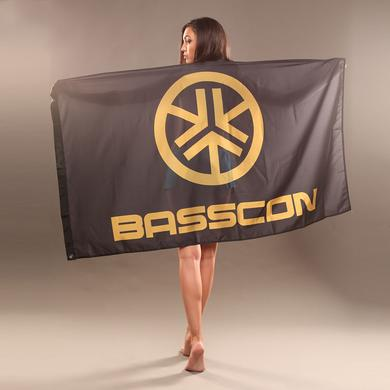 Insomniac Basscon Flag Black/Gold