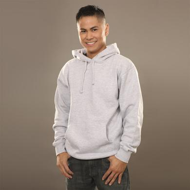 Insomniac Logo Pullover Hoodie Heather Grey