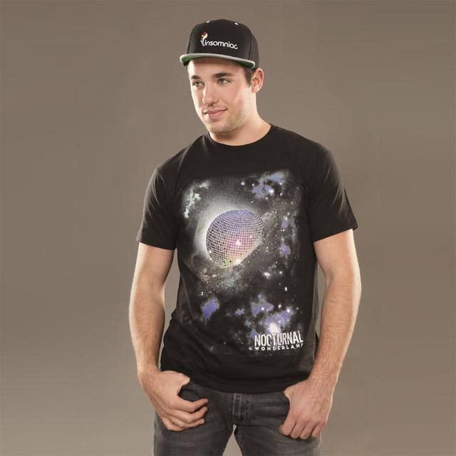 Insomniac Nocturnal Wonderland Disco Planet Tee