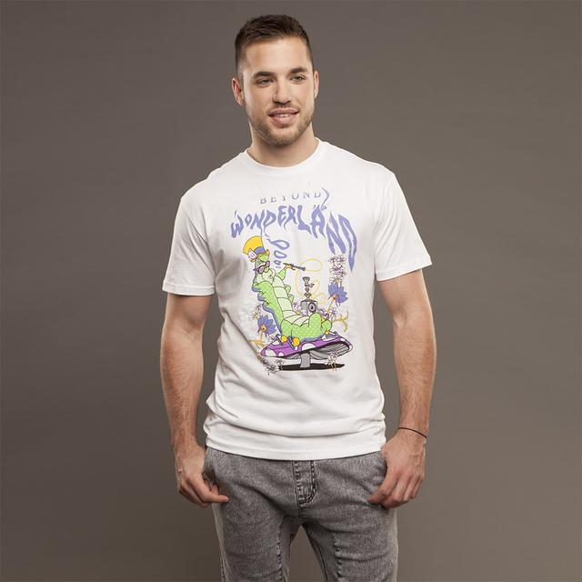 Insomniac Beyond Wonderland Caterpillar Men's White Tee