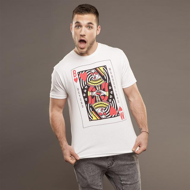 Insomniac Beyond Wonderland Queen of Hearts Men's White Tee