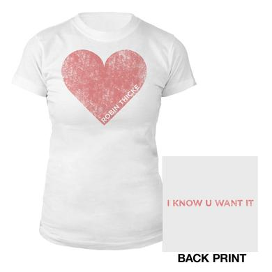 Robin Thicke Heart Women's shirt