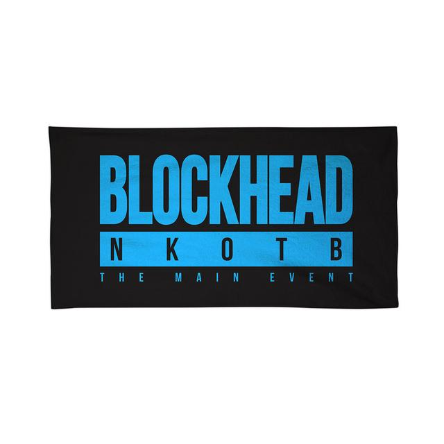 New Kids On The Block BLOCKHEAD NKOTB Towel
