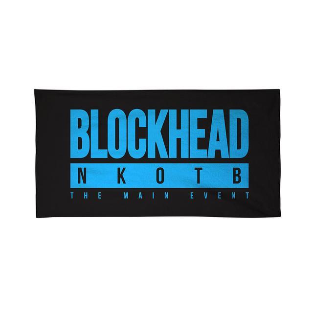 New Kids On The Block BLOCKHEAD NKOTB Towel