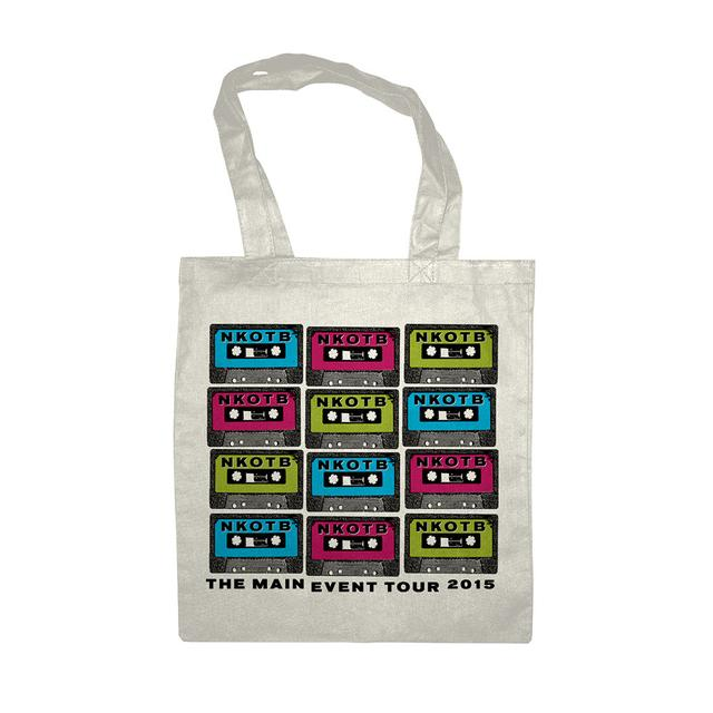 New Kids On The Block NKOTB The Main Event Tote Bag