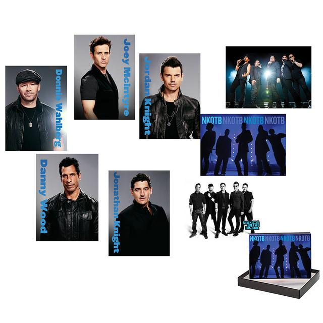 New Kids On The Block Card Set