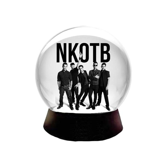 New Kids On The Block NKOTB Snow Globe