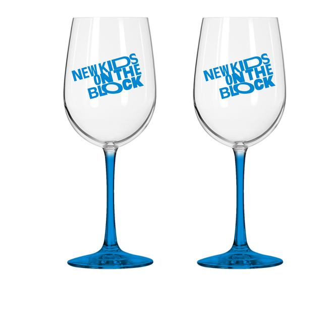 New Kids on the Block Wine Glass Set