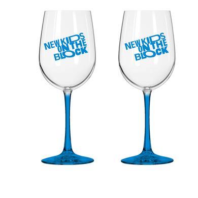 New Kids on the Block Wine Glass Set