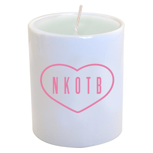 New Kids On The Block NKOTB Logo Candle
