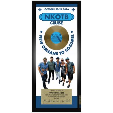 New Kids On The Block NKOTB Customized Plaque