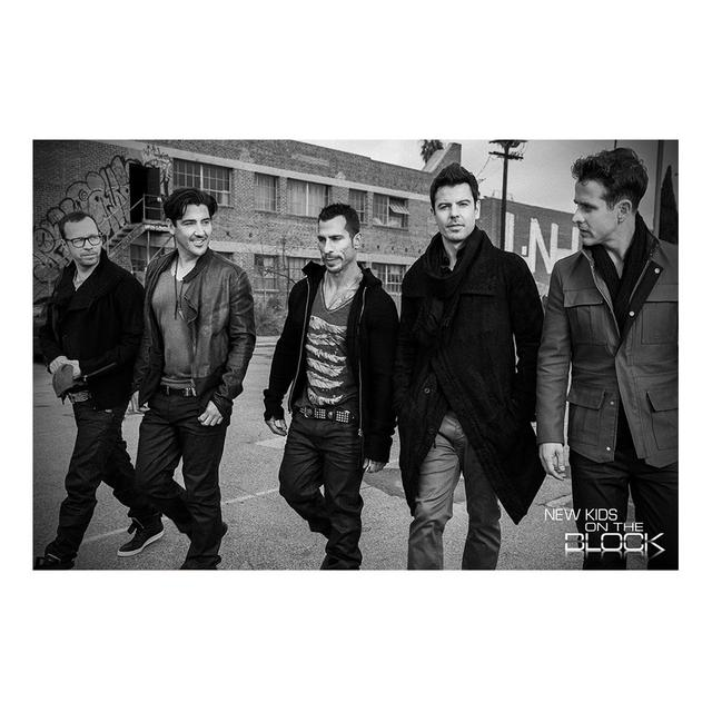 New Kids On The Block NKOTB Photo Poster