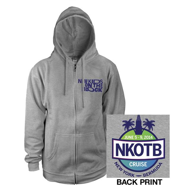 New Kids On The Block NKOTB Get Lost Cruise Hoody