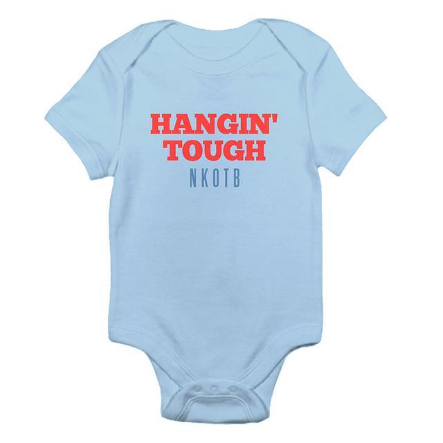New Kids On The Block Hangin Tough Baby onesie