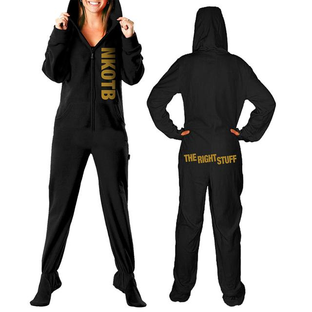 New Kids On The Block The Right Stuff Adult Hooded PJ's